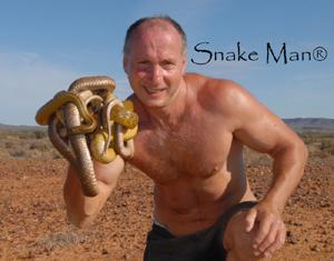 snake man Ray Hoser
